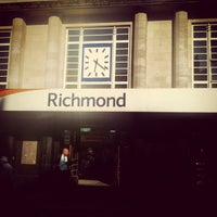 Photo taken at Richmond Railway Station (RMD) by Chris W. on 7/24/2012