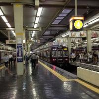 Photo taken at Hankyu Umeda Station (HK01) by さとう on 6/16/2012