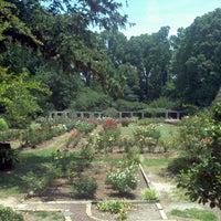 Photo taken at Raleigh Rose Garden by Tame K. on 6/10/2012