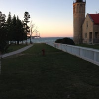 Photo taken at Old Mackinac Point Lighthouse by Mike F. on 8/1/2012