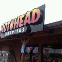 Photo taken at Hot Head Burritos by Dez C. on 5/8/2012