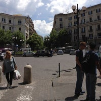 Photo taken at Piazza Luigi Vanvitelli by Elfred S. on 6/8/2012