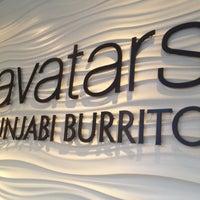 Photo taken at Avatars Punjabi Burrito by M B. on 4/7/2012