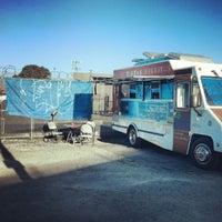 Photo taken at La Penca Azul Taco Truck by Nima M. on 8/25/2012