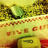 Photo taken at Five Guys by Louie I. on 8/6/2012