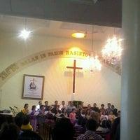 Photo taken at GKPS Cempaka Putih by Melva H. on 8/19/2012