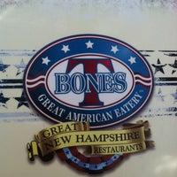 Photo taken at T-Bones Great American Eatery by Kristen K. on 5/26/2012