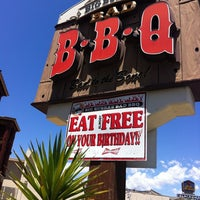 Photo taken at Big Bubba's Bad BBQ by Trevor K. on 7/22/2012