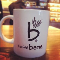 Photo taken at 카페베네 / Caffé bene by Addie H. on 2/16/2012
