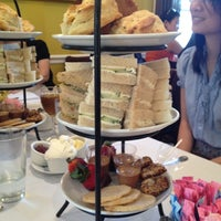 Photo taken at Ana Beall's Tea Room by Michelle V. on 6/2/2012