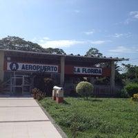 Das Foto wurde bei Aeropuerto La Florida von Rodrigo K. am 7/21/2012 aufgenommen