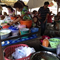 Photo taken at ส้มตำยายขัน สถานีรถไฟ by uNAlonE on 4/13/2012