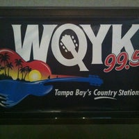 Photo taken at 99.5 WQYK by Shriner W. on 9/2/2012