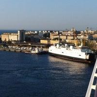 Photo taken at Porto di Messina by Frans B. on 8/2/2012