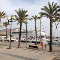 Photo taken at Port of Cartagena by IGOR V. on 8/12/2012