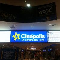 Photo taken at Cinépolis by Oasisantonio on 3/16/2012