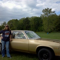 Photo taken at Dragway 42 by Angela P. on 9/9/2012
