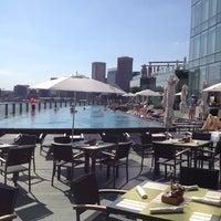 Photo taken at Four Seasons Hotel Baltimore by Matt S. on 6/9/2012