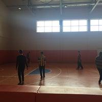 3/3/2016 tarihinde Yaseminziyaretçi tarafından Ayvacık Fen Lisesi Spor Salonu'de çekilen fotoğraf