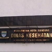 Photo taken at Dinas Kesehatan (DinKes) Kota Bandung by Tatang A. on 12/8/2013