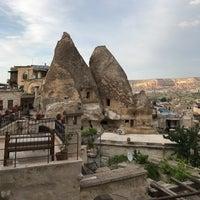 6/15/2017 tarihinde Burcu Y.ziyaretçi tarafından Sultan Cave Suites Goreme'de çekilen fotoğraf