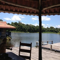 Photo taken at Pousada uacari (reserva mamirauá) by Bruno B. on 10/16/2012