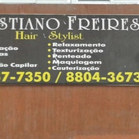 Photo taken at Cristiano Freires Hair stylist by Wagner A. on 11/5/2013