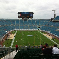 Photo taken at EverBank Field by Michelle on 10/27/2012