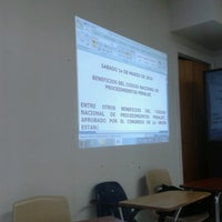 Photo taken at CUT Universidad by Alonso R. on 2/27/2014