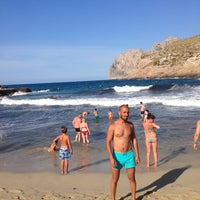 Photo taken at Cala Molins by Murat I. on 7/23/2016
