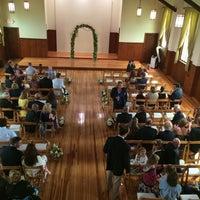 Photo taken at Chapel at Sandy Hook by Yanina C. on 8/23/2014