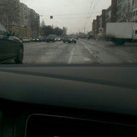 Photo taken at Перекресток Петина-Ленинградская by Алексей И. on 3/17/2016