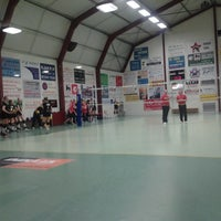 Photo taken at Volley Richa Michelbeke by Franky D. on 1/26/2014