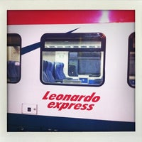 Photo taken at Fiumicino Airport Railway Station (ZRR) by Benjamin G. on 12/19/2012