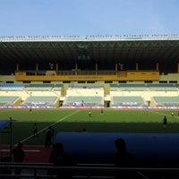 Photo taken at Stadium Hoki Nasional by jenol p. on 10/11/2012