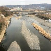 Photo taken at 八高線 入間川橋梁 by quiche on 2/3/2018
