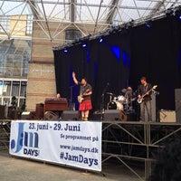 Photo taken at Amfipladsen by Ilaria on 6/25/2014