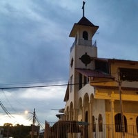 Photo taken at Iglesia Santa Rosa de Lima by Rosita P. on 4/5/2015