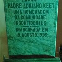 Photo taken at Igreja Sagrado Coração de Jesus by Thiago de Oliveira C. on 6/8/2014