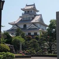 Photo taken at 長浜城 (長浜城歴史博物館) by mappie_tfm on 5/31/2014