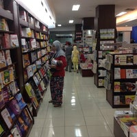 Photo taken at Gramedia by Zubeir Y. on 2/2/2014