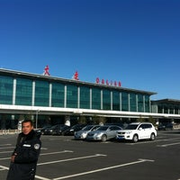 Photo taken at Dalian Zhoushuizi International Airport (DLC) by お か だ. on 11/17/2012