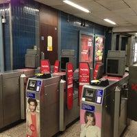 Photo taken at Moorgate Railway Station (MOG) by Poppy B. on 3/25/2013