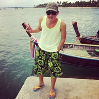 Photo taken at Koh Mook Charlie Beach Resort Trang by .:: Nattawuth S. on 5/17/2013