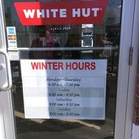 Photo taken at White Hut by Michael L. on 2/20/2017