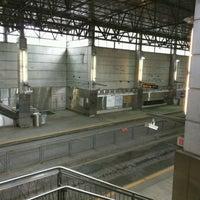 Photo taken at MBTA World Trade Center Station by Michael L. on 10/29/2016