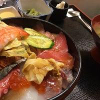 Photo taken at おさかな工房魚清 by 杉山 智. on 6/25/2014
