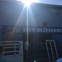 Photo taken at Antalya Büyükşehir Belediyesi Serik Mezbahanesi by Uğur . on 9/12/2016