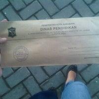 Photo taken at Dinas Pendidikan Kota Surabaya by Adhistaa M. on 6/17/2014