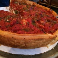 Photo taken at Zachary's Chicago Pizza by Ashraf E. on 7/3/2014